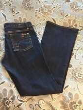 Fidelity Lotus Low Waist Boot Flare Blue Jeans  Size 28 with 32 inseam