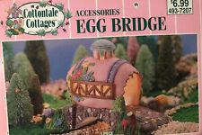 Cottontale Cottages Porcelain Egg Bridge Jo-Ann Stores 2000 Original Box