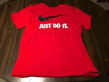 Red Nike T-Shirt - XL