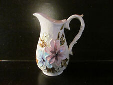 Vintage Flowered Pitcher by Napcoware C- 7810