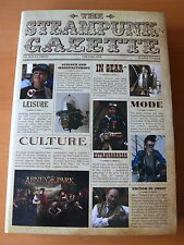 The Steampunk Gazette - Hardback - Signed 1st Edition.   Mint