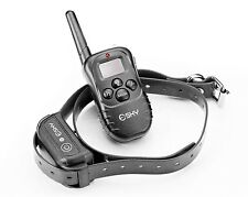 Dog Training Collar Remote Shock Electronic Durable 100LV Rechargeable Pet Puppy