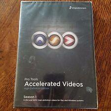 Avid Protools Accelerated Videos High Definition Edition Season 1