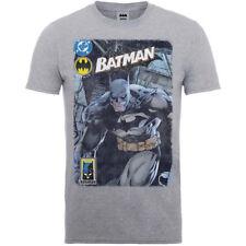 DC Comics Men's Batman Urban Legend T-shirt Grey