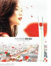 PUBLICITE ADVERTISING 1016  2015  Flower by Kenzo  parfum femme