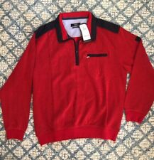 Bugatti The European Brand Avessa 176 Sweater Sweatshirt Pullover NWT Red Men XL