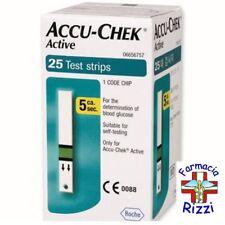 ACCU CHEK ACTIVE 25 STRISCE GLICEMIA ROCHE SCADENZA APRILE 2020