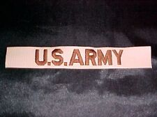 USA ARMY DESERT TAN OPERATION IRAQI ENDURING FREEDOM OIF OEF SWA CLOTH NAME TAPE