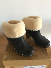 UGG BOOTS LYNNEA SIZE 4 WORN ONCE BLACK Original Price £245. 100% AUTHENTIC