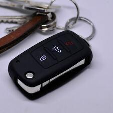 Auto Schlüssel Hülle Cover Schwarz VW UP POLO GOLF T5 TIGUAN SCIROCCO JETTA
