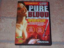Pure Blood DVD Movie Troma vampire dark comedy