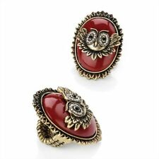 Alloy Statement Oval Costume Rings