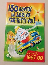 D23>  Catalogo sorpresine ovetto Kinder 1997/98