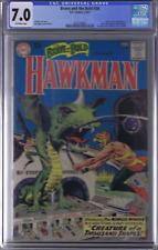 Brave and the Bold #34 DC 1961 CGC 7.0 (F/VF)1st app./Origin SA Hawkman/Hawkgirl