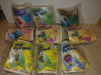 McDonalds 1989 Funny Fry Friends Happy Meal Toy NEW SEALED NOS lot of 9
