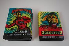 VINTAGE NOS - TOPPS - ROCKETEER - DISNEY PRODS - MOVIE CARDS - LOT OF 10 PACKS