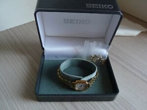 Boxed Seiko ladies quartz watch in excellent condition and working order