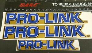 HONDA GOLD PRO LINK ATC250R ATC 250R MX SWING ARM SUSPENSION DECAL STICKER HRC