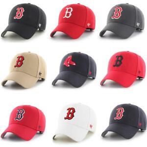 '47 Brand MLB Boston Red Sox Curved Baseball Cap Basecap Kappe Cappy Hat Mütze