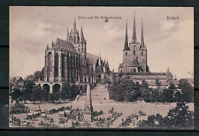 Ansichtskarte - Dom - St. Severikirche - Erfurt - 1909