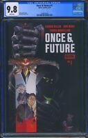 Once & Future 1 (Boom! Studios) CGC 9.8 White Pages 1st Print Kieron Gillen