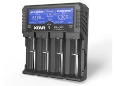 XTAR VP4 Plus Dragon Intelligent LCD 16340 18650 Charger Tester USB+12v Car EU