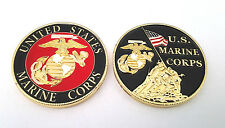 UNITED STATES MARINE CORPS Military Veteran CHALLENGE COIN CH1201 EE