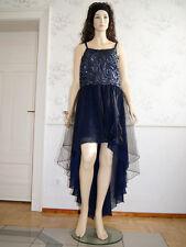 Abendkleid Partykleid Abiballkleid Abschlussball Brautjungfer Blau Jessica GR.50