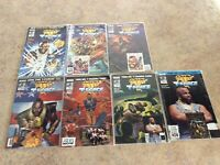 MR T AND THE T-FORCE  #1,2,3,4,6,7,8 (SEALED) LOT OF 7 NM COMIC & CARD 1993 NOW