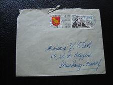 FRANCE - enveloppe 1957 (cy80) french