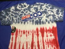 Indianapolis Indy 500 2017 Event Logo TIE DYE T-Shirt TAKUMA SATO NWT $28 XL