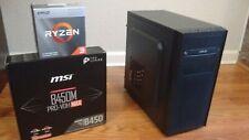 Amd Ryzen 3 3200g Quad Core Desktop Gaming Computer Pc w/ Linux Mint Cinnamon Os
