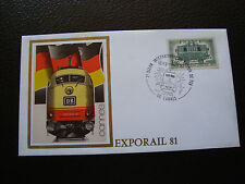 FRANCE - enveloppe 1981 (exporail 81)) (cy83) french