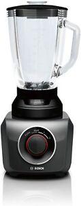 Bosch MMB42G0B Silentmixx Blender Of Beaker, 700 W, Chopping, Mix And Beat Black