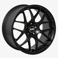 19x9.5 VMR Rims V710 CUSTOM ET22 Matte Black Wheels (Set of 4)