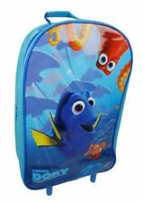 12l Finding Dory Nemo Wheeled Kids Trolley School Bag Childrens Luggage Travel