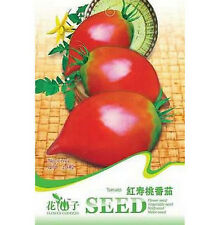 Fd1269 Red Peach Tomato Seed Vegetable Fruit Seed Healthy Food *1 Pack 20 Seeds*