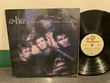 """A-Ha 33 rpm Philippines 12"""" LP EP stay on these roads"""