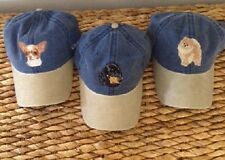 Embroidered Personalized Dog Breed Lover Gifts Denim Baseball Caps (Breeds A-C)