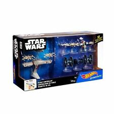 Hot Wheels Star Wars 10 Starships Star Ships with Flight Controller (4+ Years)