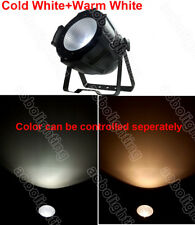 200W warm white+cold white 2in1 cob par light cob led stage lighting Studio DJ