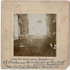 Museales Foto, aufgenommen von Franz Blei, Insel Redaktion, Wedekind, März 1901.