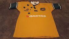 Canterbury Australia Wallabies Qantas Rugby Shirt Jersey Mens Small