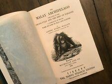 """""""Malay Archipelago"""" Wallace Darwin 1894 TTRS"""