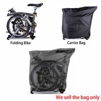 RockBros Folding Bike Loading Package Carry Bag for Brompton Folding Bike Black