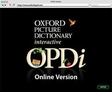 Oxford Picture Dictionary Interactive Online Student Access Only (12-mo. acce...