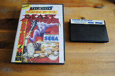 Jeu SHADOW OF THE BEAST pour Sega MASTER SYSTEM (SN)