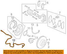 NISSAN OEM 03-07 Murano ABS Anti-lock Brakes-Rear Speed Sensor 47901CA00A
