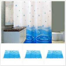 Shower Curtains Bath Screen Resistant Waterproof Bathroom Decor With Hooks RF