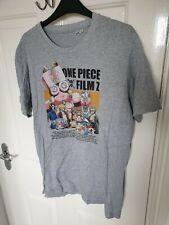 One Piece Film Z Grey T-Shirt Size M Medium - Anime Manga Japanese RARE